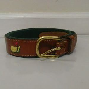 Masters Golf Augusta National Belt